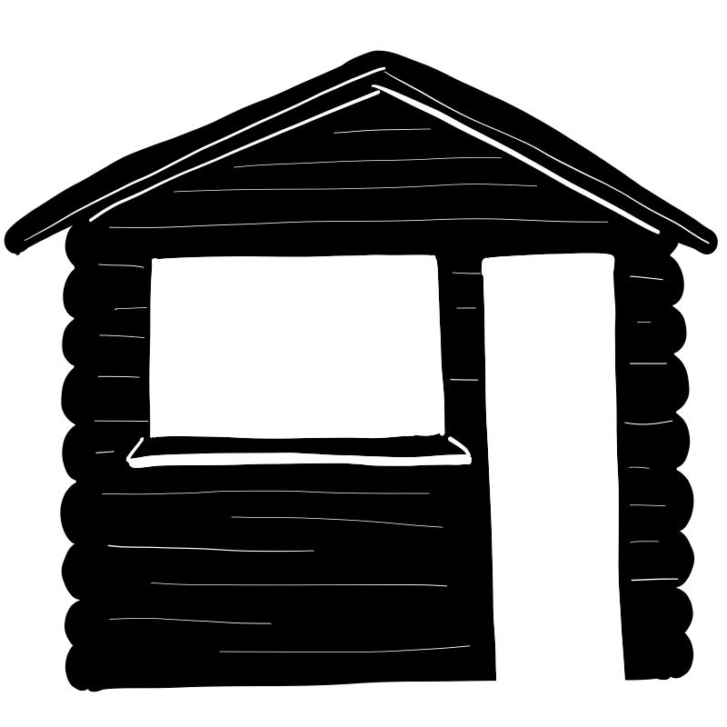chalet-pictogramme