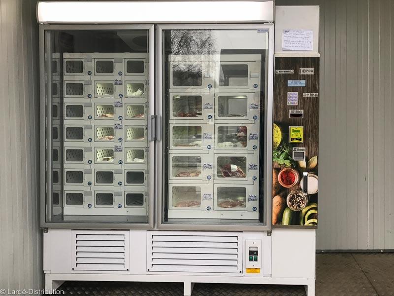 armoire frigorifique produits frais